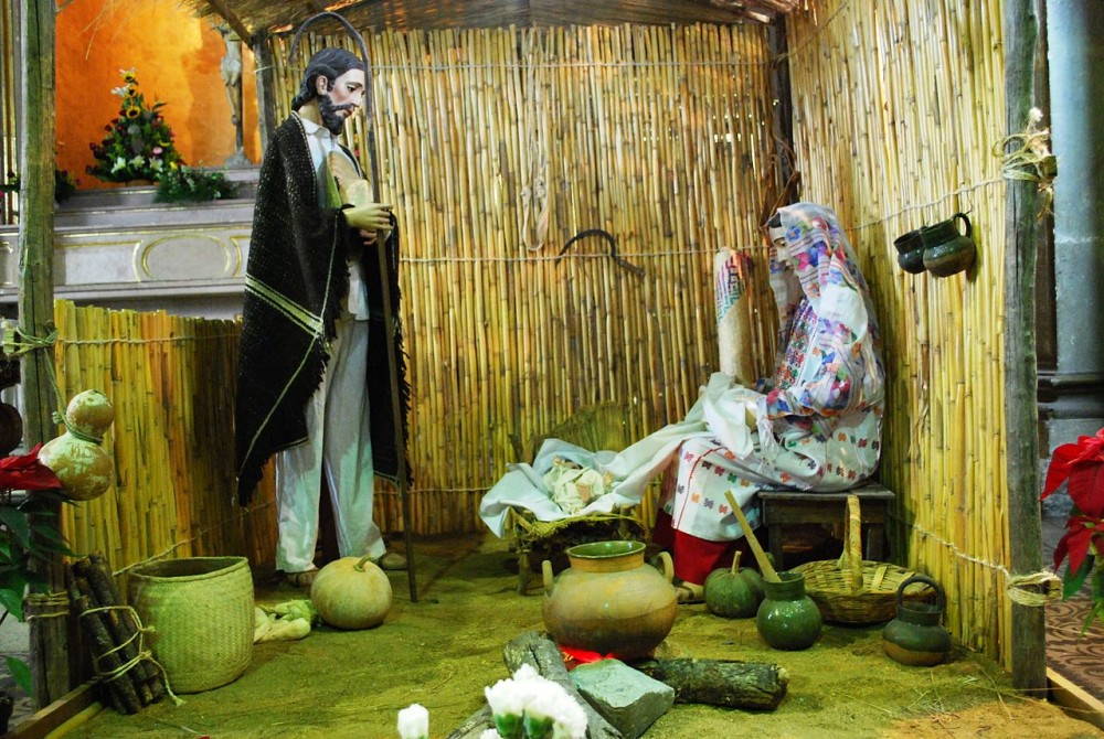 Mexico especially loves Nativity Scenes.