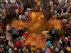 2,000 candles being lit today in Moscow in honor of abortion victims