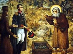 Story of Fr. Seraphim's Military Visitor, as Told by Hieromonk Joasaph (Tolstosheyev) in 1849