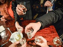 Alcohol consumption falls 80% over 7 years in Russia