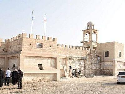 Восстановлен древний монастырь Иоанна Предтечи на Иордане