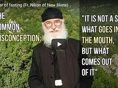 The power of fasting (Fr. Nikon of New Skete) (VIDEO)