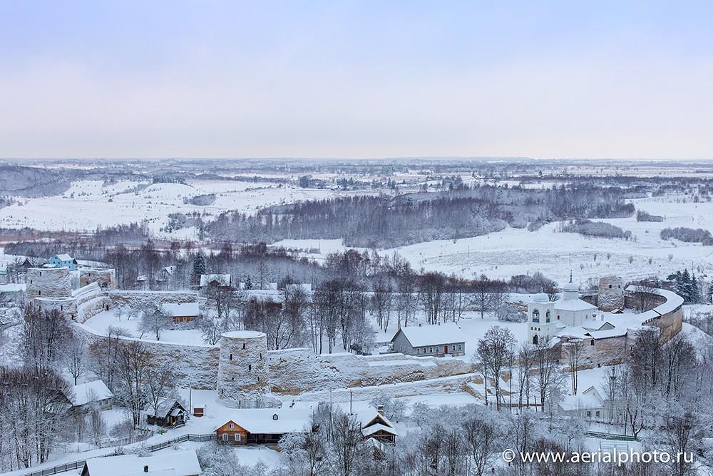 Изборская крепость. Церковь Николая Чудотворца