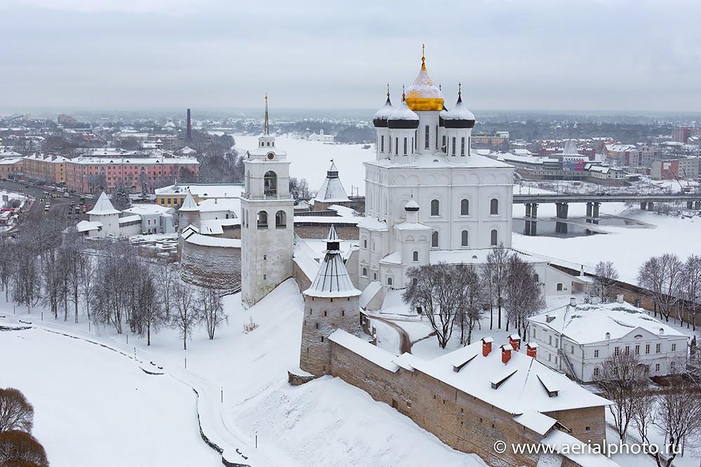 Псковский кремль. Троицкий Собор