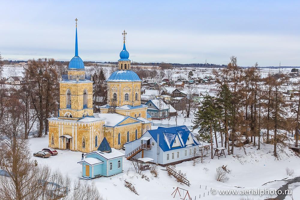Μπέρνοβο. Ιερός Ναός Κοιμήσεως της Θεοτόκου