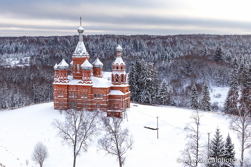 Волговерховье. Ольгинский монастырь