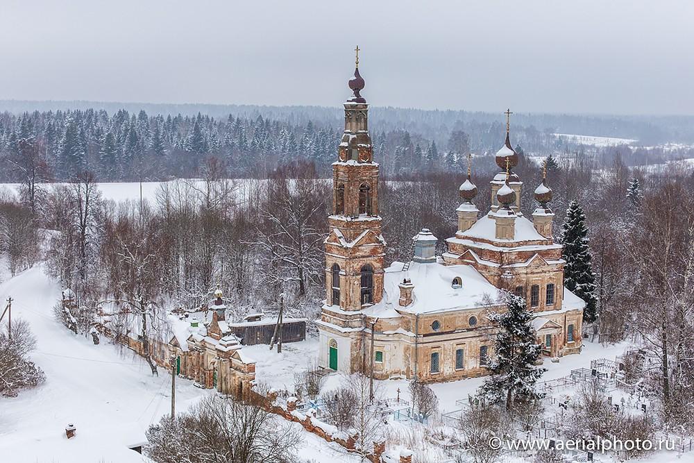 Ιερός Ναός Γεννήσεως του Χριστού στο χωριό Ροζντεστβό