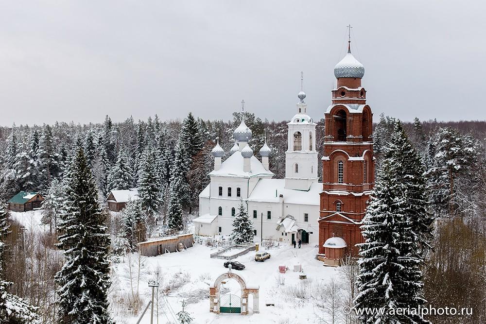 Храм Архангела Михаила «в бору», с. Архангельское