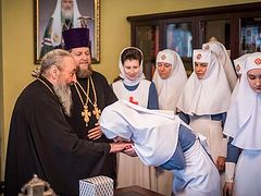 Met. Onuphry blesses creation of Martha-Maria Monastery of mercy in Kiev