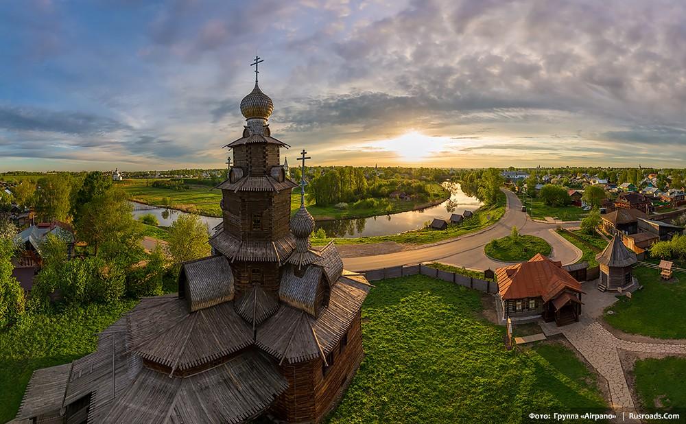 Музей деревянного зодчества Россия, г. Суздаль