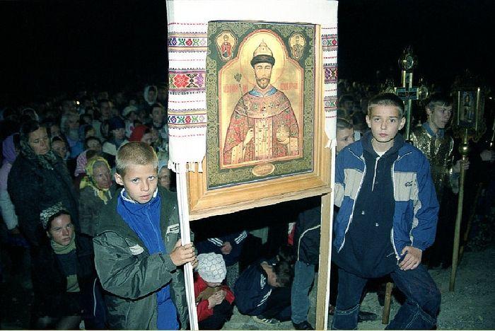 Первый Великий Крестный Ход 1992 год