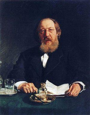 И. С. Аксаков. Портрет работы И. Репина (1878)