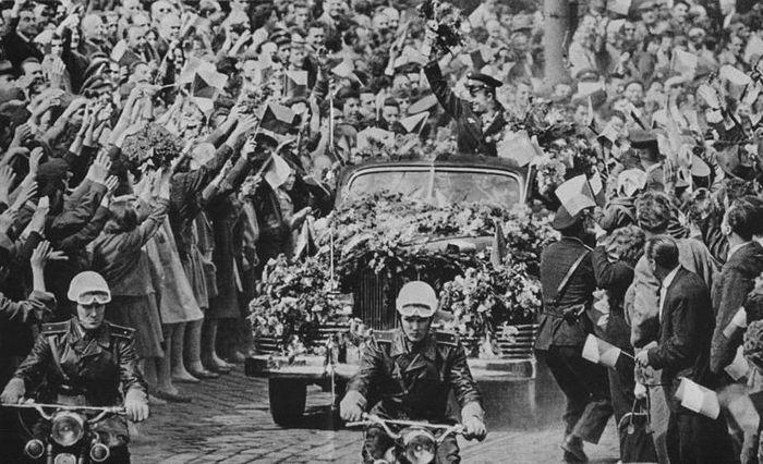 Прага, октябрь 1961