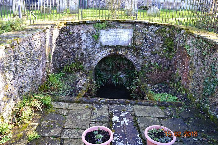 St. Withburga's well in Dereham, Norfolk (kindly provided by the churchwarden of Dereham church)