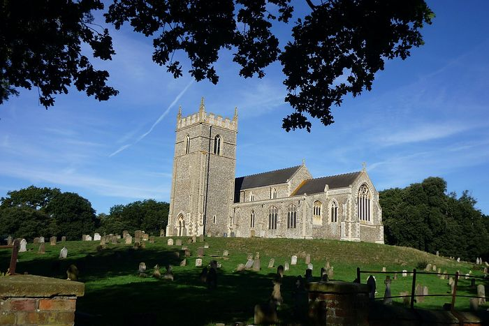 St. Withburgh's Church in Holkham, Norfolk (photo provided by the churchwarden of Holkham church)