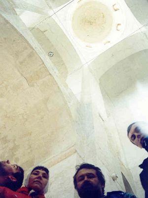 В храме Покрова на Нерли