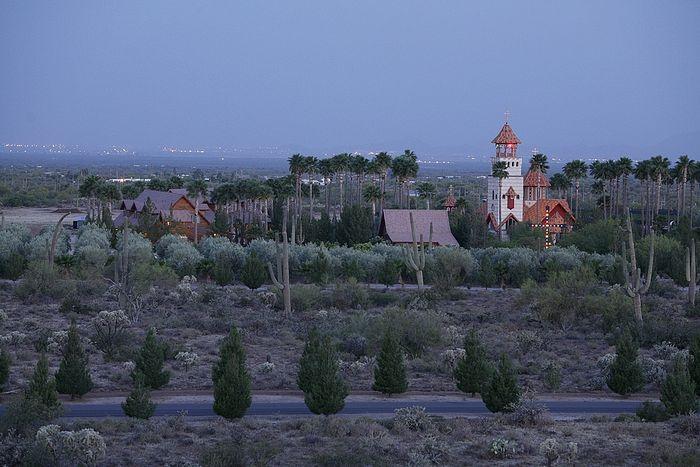 Манастир Светог Антонија Великог у Аризонској пустињи