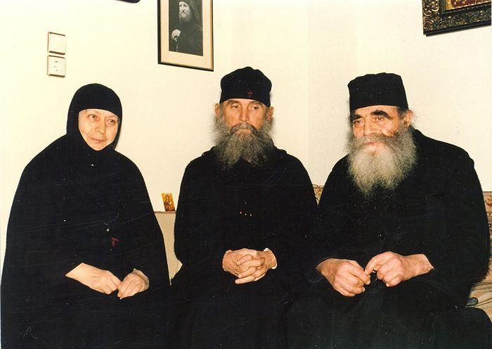 Мати Макрина, старац Јефрем и отац Јосиф