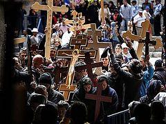 Faithful of Ukrainian parishes seized by schismatics to lead procession in Jerusalem on Holy Friday