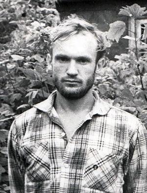 Алексей Осипов в городе Гагарин (тогда назывался Гжатск), начало 1960-х годов