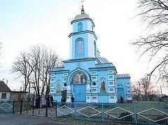 Верующих Украинской Православной Церкви под прицелом заставили покинуть храм села Птичья