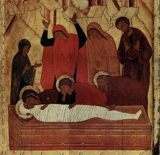 The Deposition in the Tomb.