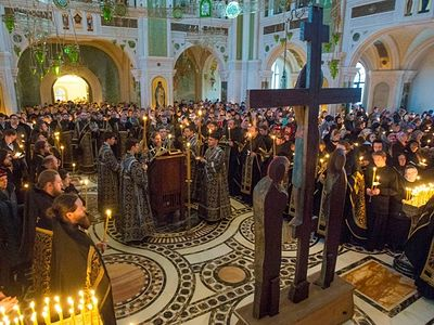 Palm Sunday and Holy Week in Sretensky Monastery