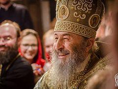 Paschal Message of His Beatitude Metropolitan Onuphry of Kiev and All Ukraine