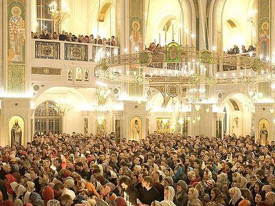 Pascha in Sretensky Monastery