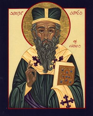 St. David, Archbishop of Mynyw.