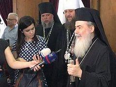 Patriarch of Jerusalem: God chose Met. Onuphry to overcome Ukrainian schism