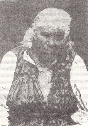 Святая блаженная схимонахиня Параскева (Паша Саровская)