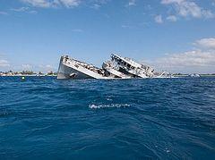 Кораблекрушение в гавани