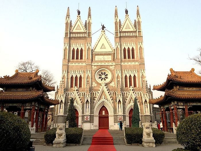 The North Church (the Church of the Savior). Photo: beijingtoday.com.cn