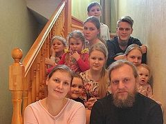 Forty-eight Foster Children and Nine of Their Own