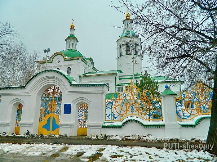 Михайло-архангельская церковь, г. Тобольск