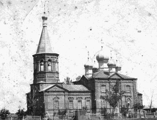 Михайло-Архангельская церковь, с. Архангельское