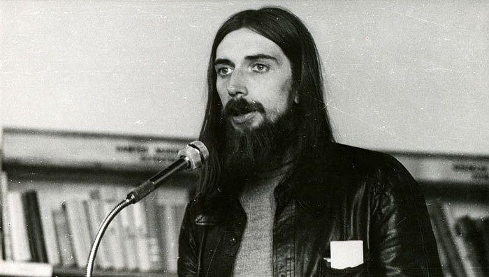 Композитор Владимир Мартынов. Каунас, 1977