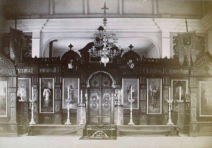 Иконостас Рыковской церкви