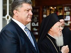 Poroshenko to formally petition Constantinople to create autocephalous Ukrainian Church, with united support of two schismatic bodies