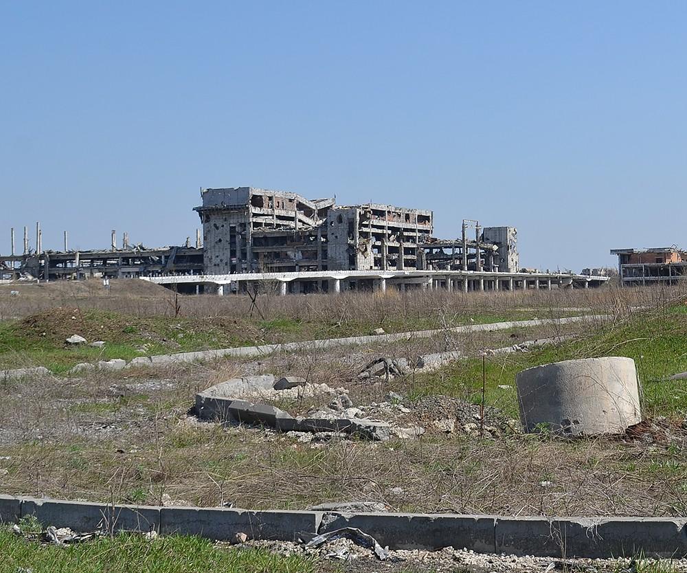 Κατεστραμμένο αεροδρόμιο