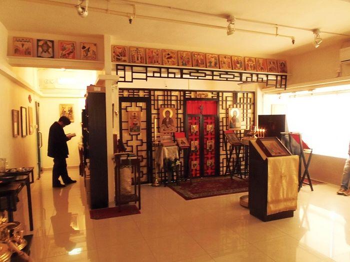 Храм святых апостолов Петра и Павла в Гонконге