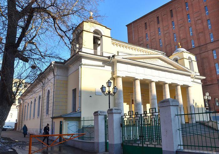 Католический храм на Малой Лубянке