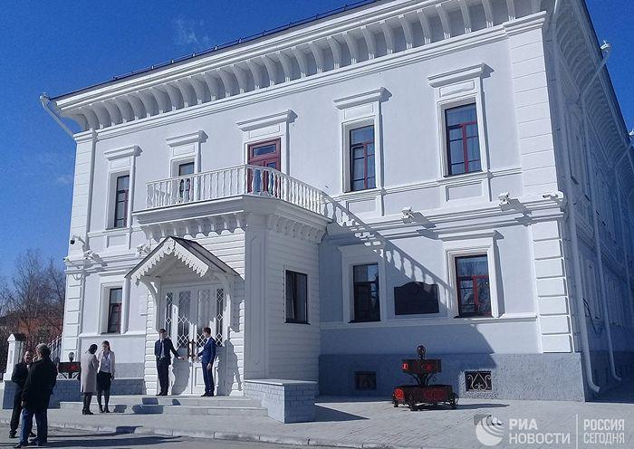 Здание музея - Губернаторский дом, где жила в ссылке царская семья. Фото: РИА Новости / Ольга Ерачина