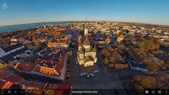 Панорама Таллина с видом на Александро-Невский собор
