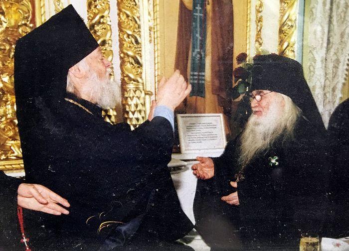 Vladyka Eusebius and Fr. Adrian
