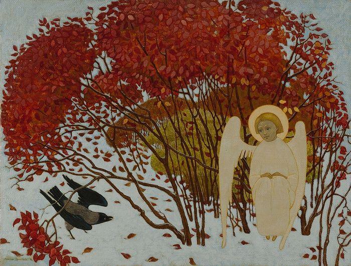 Ангел и ворона