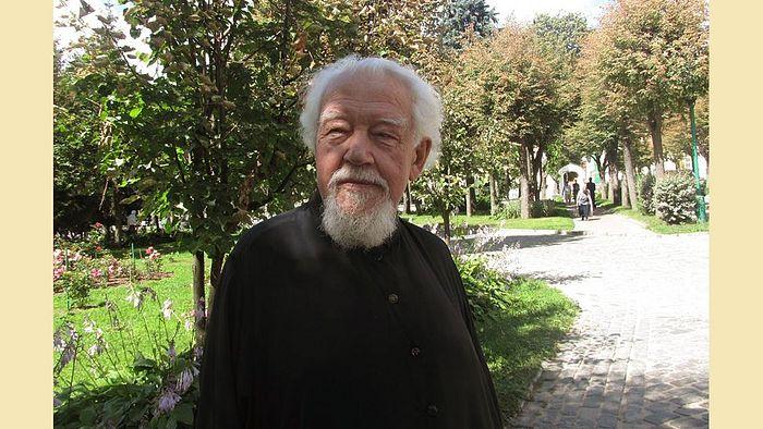 Архидиакон Андрей Мазур. Фото: Алексей Ларионов, Свято-Троицкая Сергиева Лавра.