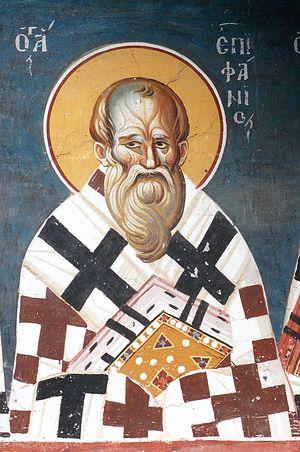 Святитель Епифаний Кипрский