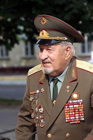Генерал-майор А.В. Пыльцын